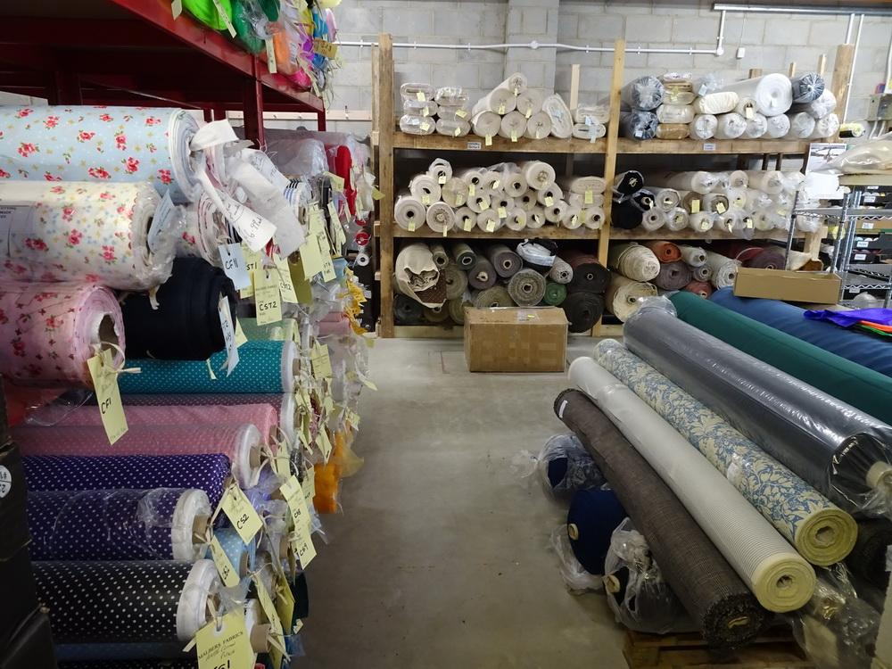 Malbers fabrics warehouse bideford north devon