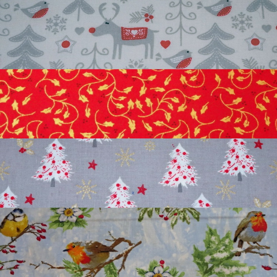 Gorgeous Christmas Fabrics