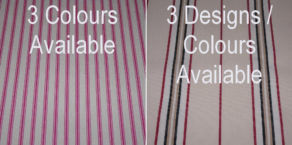 cotton ticking upholstery haberdashery supplies