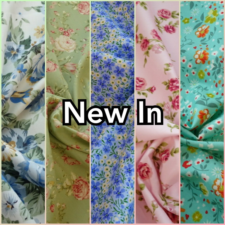 Malbers Fabrics New In Cotton Floral Fabric