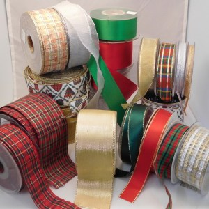 LUXURY FESTIVE RIBBON 1 METRE