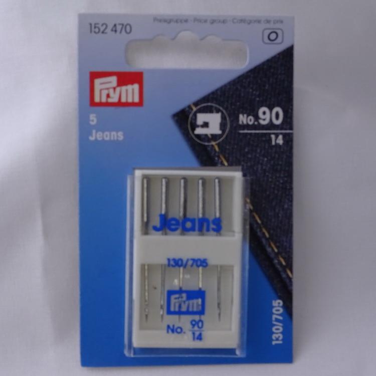 Prym 5 Stretch Machine Needles Size 130//705 75-90 152340